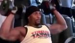 Baltimore Ravens Ray Lewis Workout  thumbnail