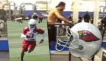 Arizona Cardinals' Robert Gill Runs 25 MPH on the Treadmill thumbnail