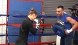 Ronda Rousey UFC 170 Media Workout thumbnail