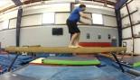 Balance Beam Backflip Fail  thumbnail