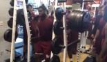 Terrence Jones Squats a Trojan 810 Pounds thumbnail