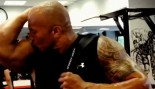 The Rock Flaunts Fitness in Funny Workout Video thumbnail