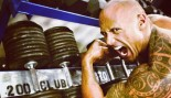 The Rock Working Oug in the Gym thumbnail