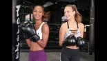Victoria's Secret models Jasmine Tookes and Josephine Skriver learn how to 'Train Like an Angel' thumbnail