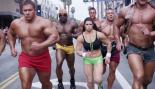 Danica Patrick Races Bodybuilders in Super Bowl Promo thumbnail