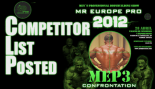 2012 IFBB Mr. Europe Pro Contest List Posted 10Apr12 thumbnail