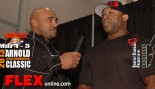Marcus Haley before the 2013 Arnold Classic thumbnail