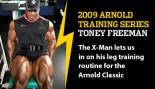2009 ARNOLD TRAINING SERIES: TONEY FREEMAN thumbnail