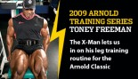 2009 ARNOLD TRAINING SERIES: TONEY FREEMAN thumbnail