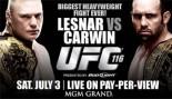 UFC 116: LESNAR VS. CARWIN thumbnail