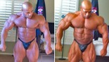 PHOTOS: DENNIS JAMES 5 & 3 WEEKS OUT FROM 2010 MR. EUROPE thumbnail