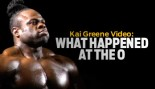 "VIDEO: KAI GREENE ""WHAT HAPPENED AT THE O"" thumbnail"