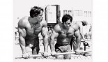 Arnold Commemorates Meeting Franco Columbu thumbnail