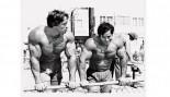 Arnold Commemorates Meeting Franco Columbu thumbnail