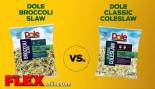 Dole Broccoli Slaw vs. Dole Classic Slaw thumbnail