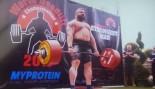 Eddie Hall Deadlifts 1,020 Pounds to Set New World Record thumbnail