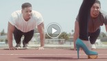 Watch the Hodge Twins Bench Press Pop Star Bonnie McKee thumbnail