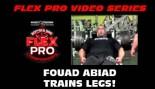 FLEX VIDEO: Fouad Abiad Trains LEGS! thumbnail