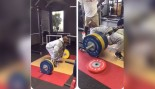 James Harrison Crushes Weights Like a College Player thumbnail