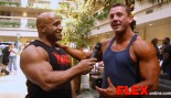 Dennis James Interviews Heavyweight Bodybuilder Kevin Libby at the 2014 USAs thumbnail