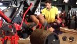 Roelly Winklaar Trains Legs 3 1/2 Weeks Before the 2014 Olympia thumbnail