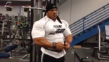 Big Ramy Trains Back One Week Before the 2014 Olympia thumbnail