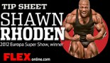 Tip Sheet: Shawn Rhoden thumbnail