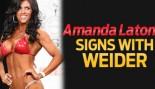 WEIDER SIGNS AMANDA LATONA! thumbnail