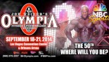 American Media, Inc. and NBC Sports Group Announce Partnership for the 2014 Mr. Olympia Competition thumbnail