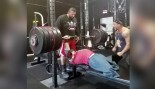 Fitness Trainer With No Legs Can Bench 475 Pounds thumbnail