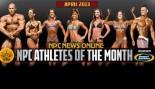 NPC and Gaspari Announce April 2013 Athletes of the Month thumbnail