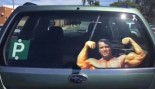 Arnold Schwarzenegger Car Accessory for Bodybuilding Enthusiasts thumbnail