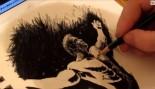 Liam Hudson's Time Lapse Drawing: Arnold Schwarzenegger thumbnail