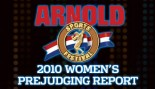 2010 ARNOLD CLASSIC WOMEN'S PREJUDGING REPORT thumbnail