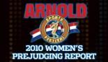 2010 ARNOLD CLASSIC WOMEN'S PREJUDGING REPORT thumbnail