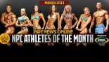 NPC and Gaspari Announce Mar 2013 Athletes of the Month thumbnail