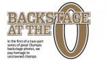 PHOTOS: BACKSTAGE AT THE O thumbnail