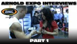 ARNOLD EXPO INTERVIEWS: PART 1! thumbnail