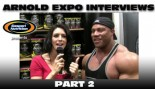 ARNOLD EXPO INTERVIEWS: PART 2! thumbnail