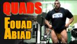 IFBB Pro Foaud Abiad Trains Quads & Calves thumbnail