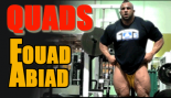 IFBB Pro Foaud Abiad Trains Quads & Calves thumbnail