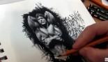 Liam Hudson's Time Lapse Drawing: Frank Zane thumbnail