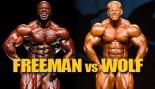 OLYMPIA DREAM MATCHUP: FREEMAN VS WOLF thumbnail