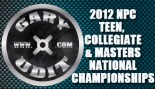 2012 NPC TEEN , COLLEGIATE & MASTERS NATIONAL CHAMPIONSHIPS Contest Info thumbnail