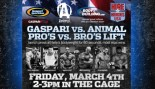 GASPARI vs. ANIMAL LIFT for CHARITY! thumbnail