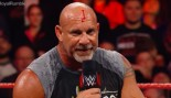 Why Goldberg Was Bleeding for Real on Monday Night Raw thumbnail