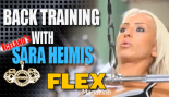 Iceland's Sara Heimis demonstrates three components of back training thumbnail