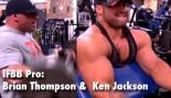 IFBB Pro: Ken Jackson and Brian Thompson thumbnail