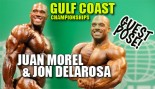IFBB Pros Juan Morel and Jon Delarosa Guest Pose @ Gulf Coast Championships thumbnail