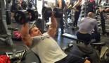 Jay Cutler Trains Calves and Chest thumbnail